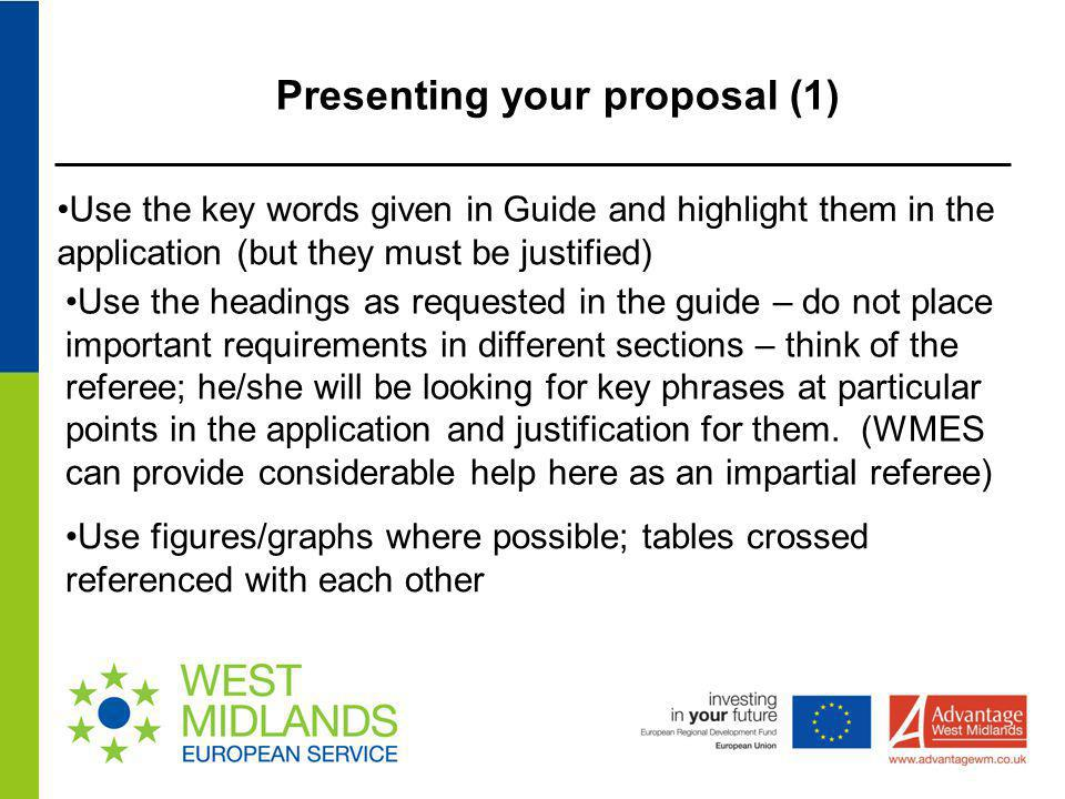 Presenting your proposal (1)