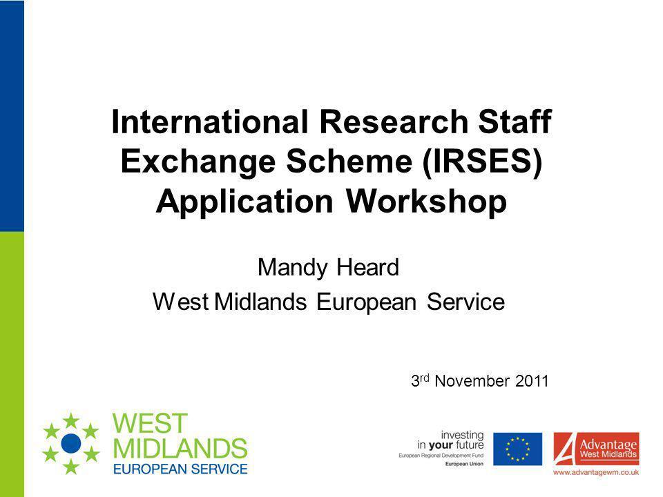 Mandy Heard West Midlands European Service