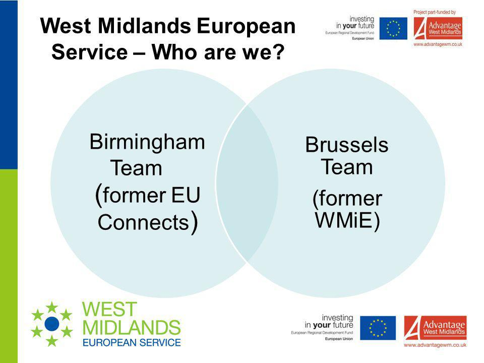 West Midlands European Service – Who are we