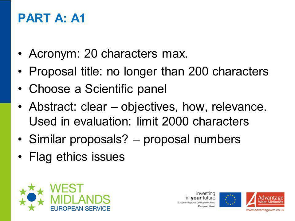 Acronym: 20 characters max.