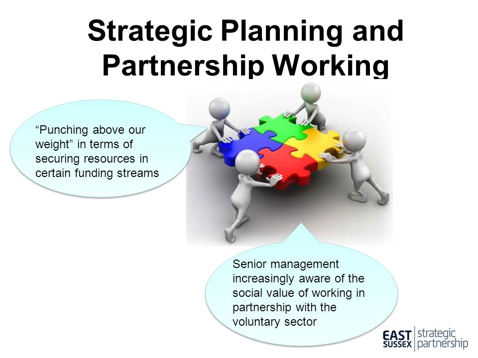 Strategic Planning and Partnership Working