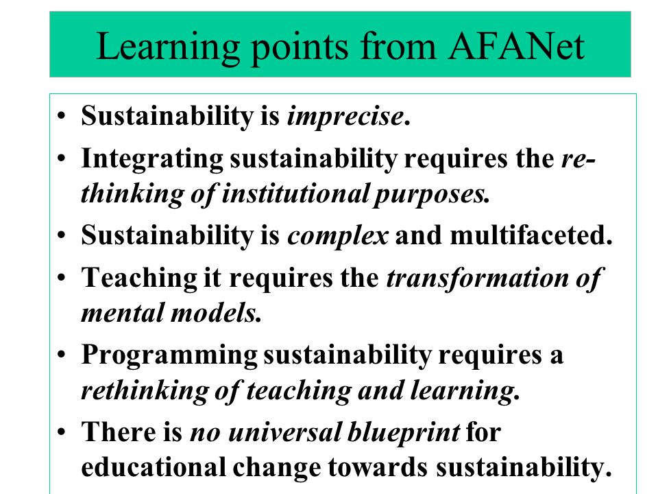Learning points from AFANet