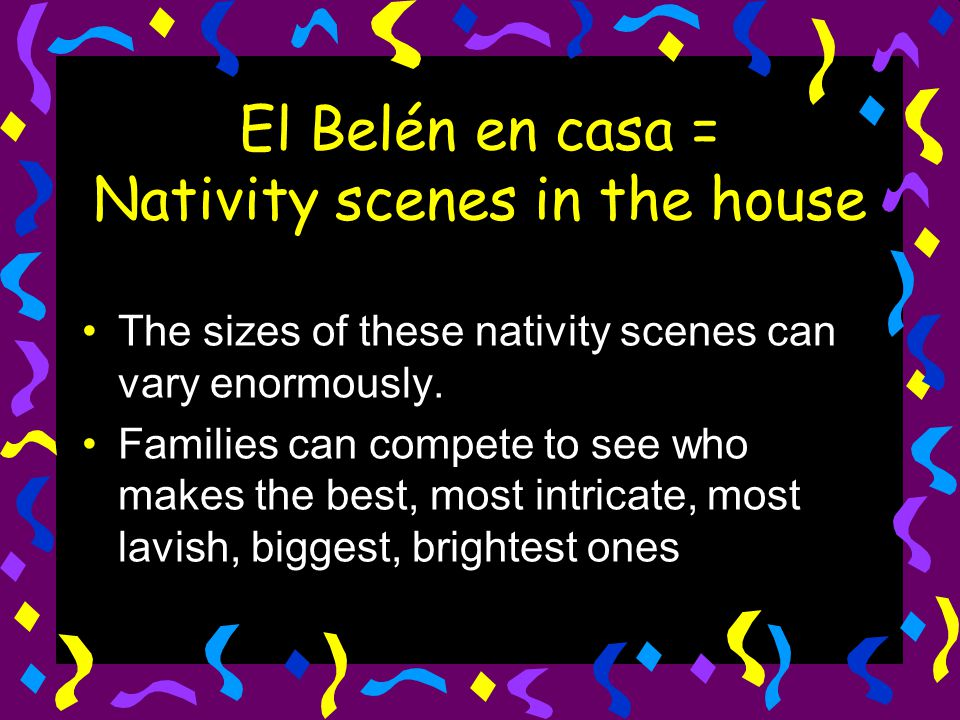El Belén en casa = Nativity scenes in the house
