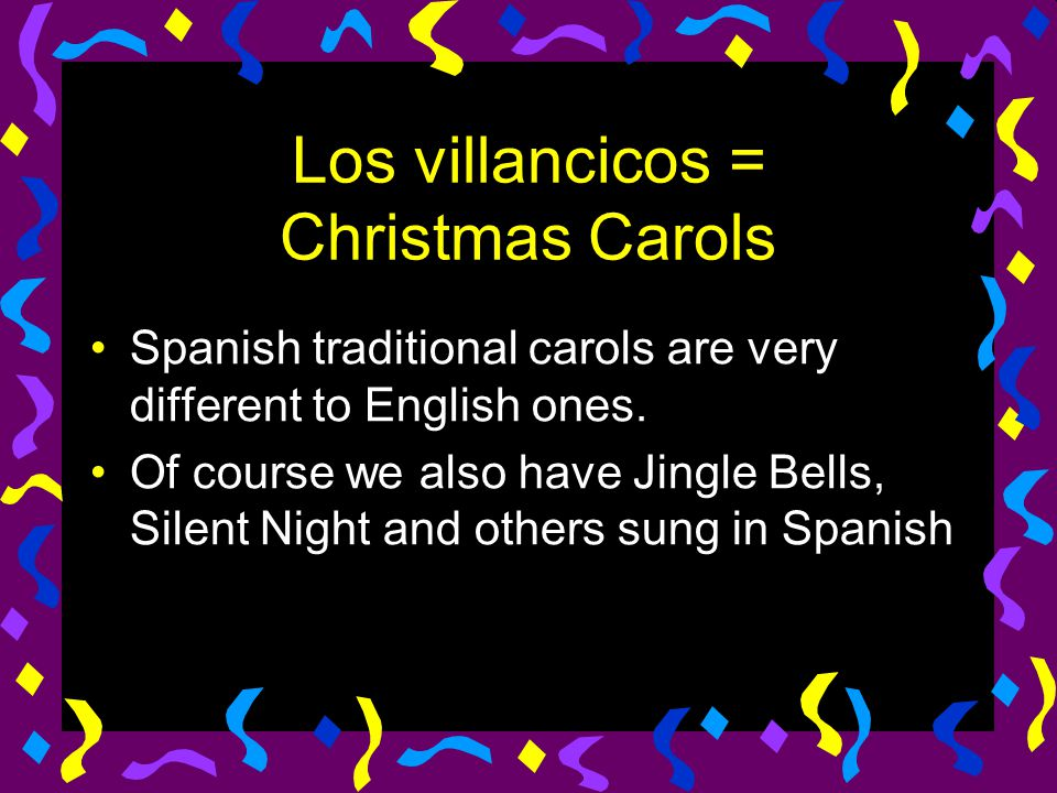 Los villancicos = Christmas Carols