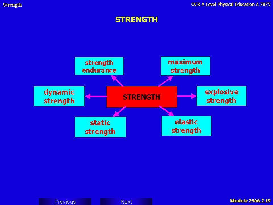 Strength STRENGTH
