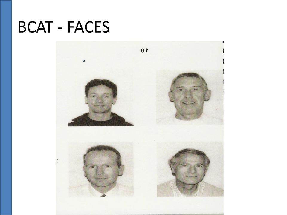 BCAT - FACES