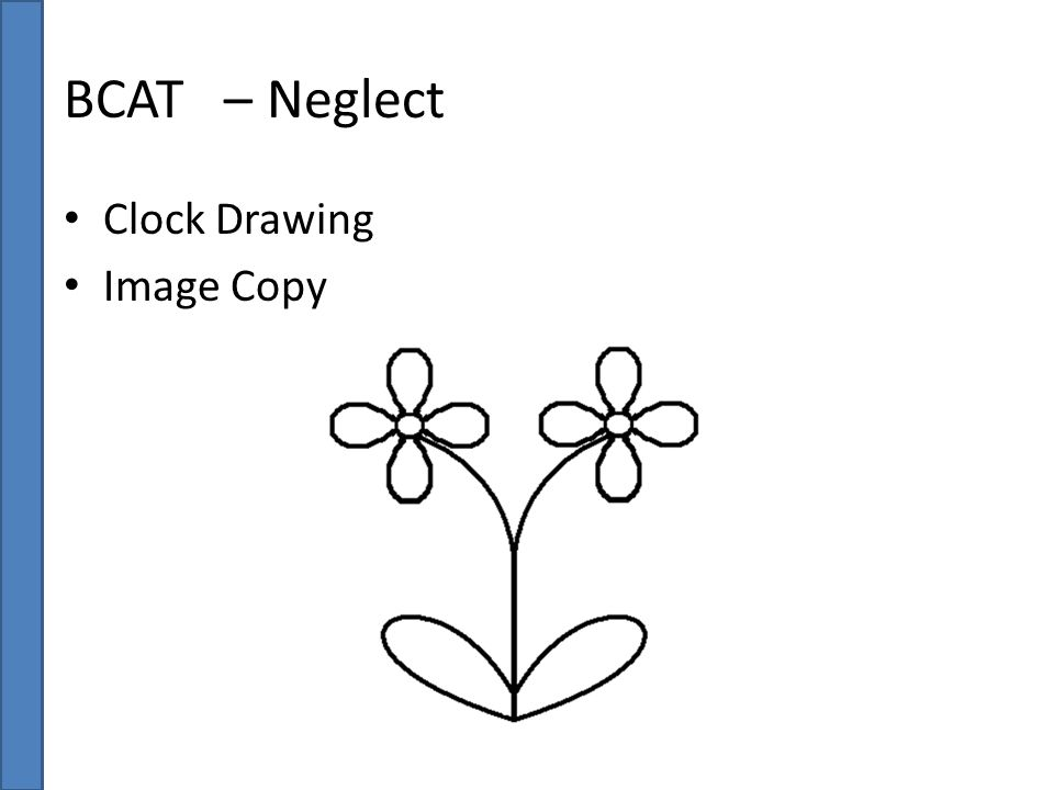 BCAT – Neglect Clock Drawing Image Copy
