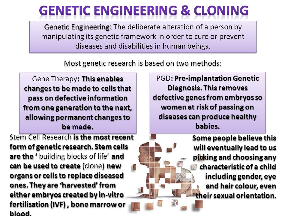 Genetic Engineering & Cloning