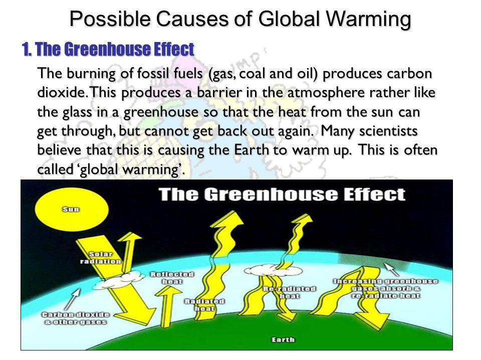global warming 5 pages causes effects and possible solutio