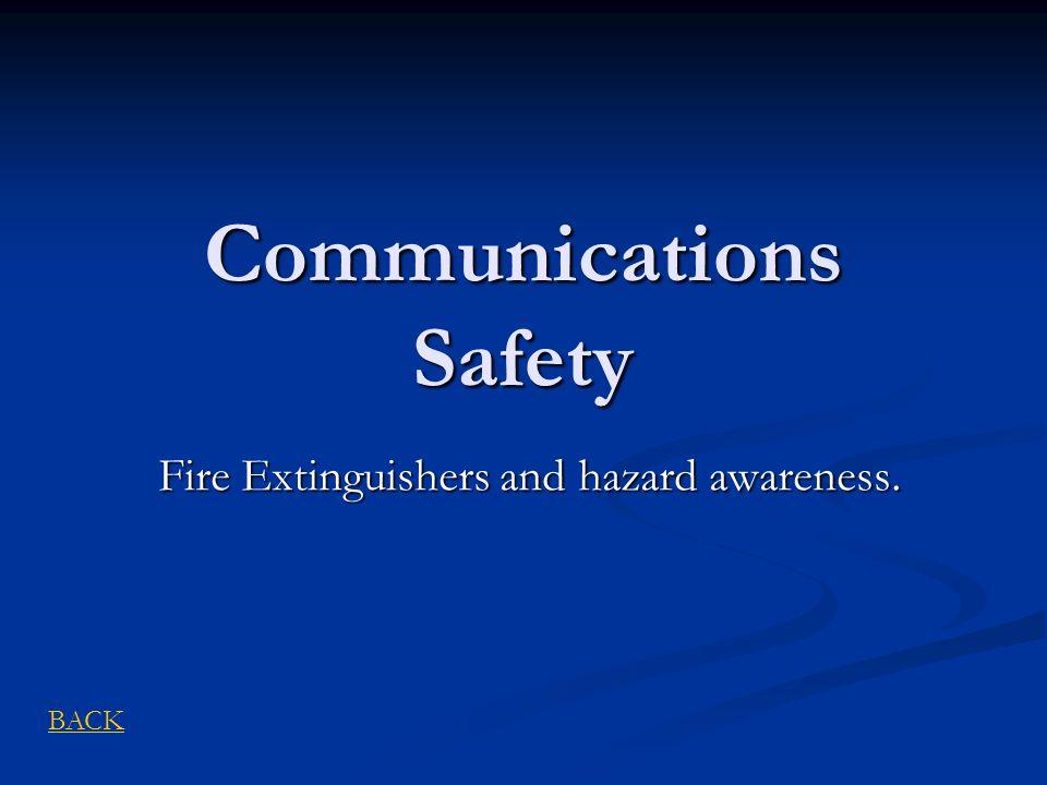 Communications Safety