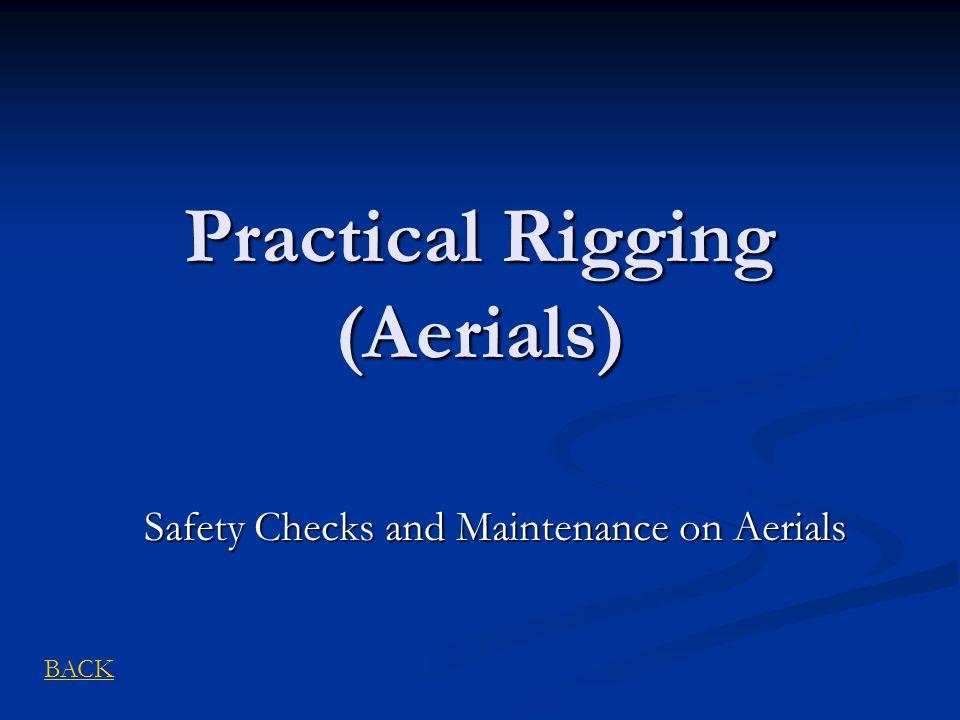 Practical Rigging (Aerials)