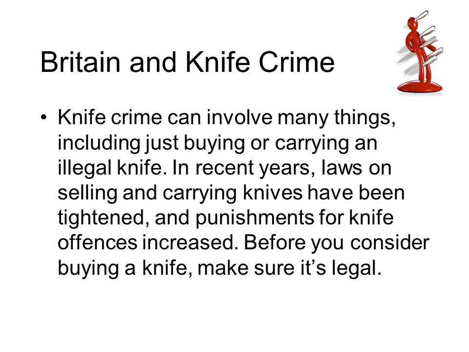Britain and Knife Crime