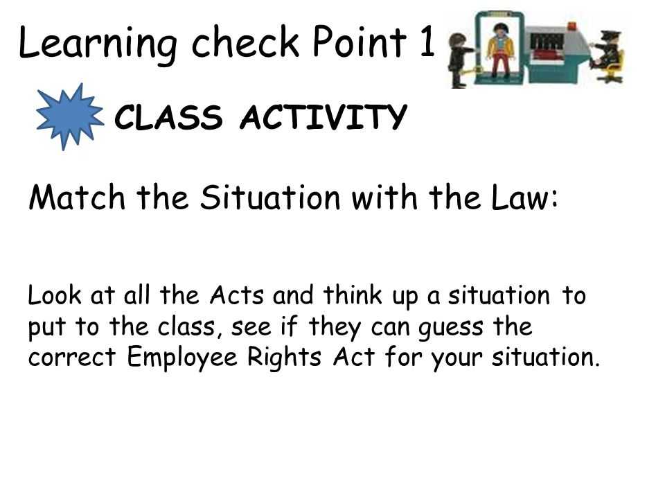 Learning check Point 1 CLASS ACTIVITY