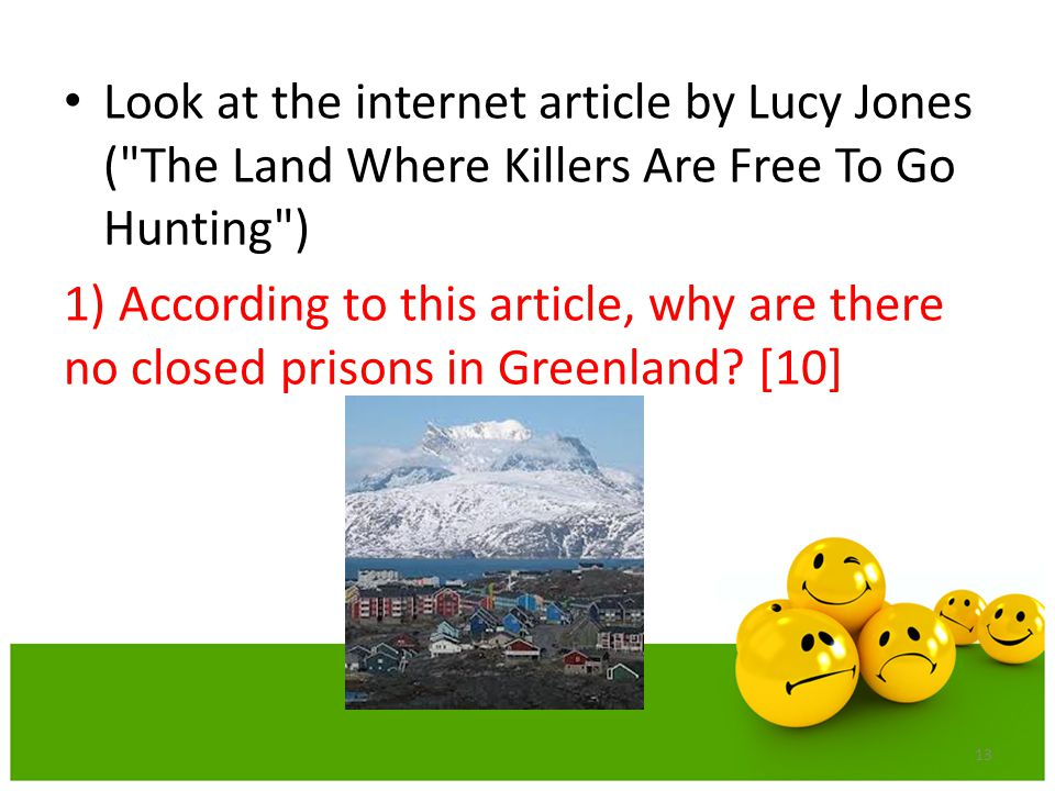 Look at the internet article by Lucy Jones ( The Land Where Killers Are Free To Go Hunting )