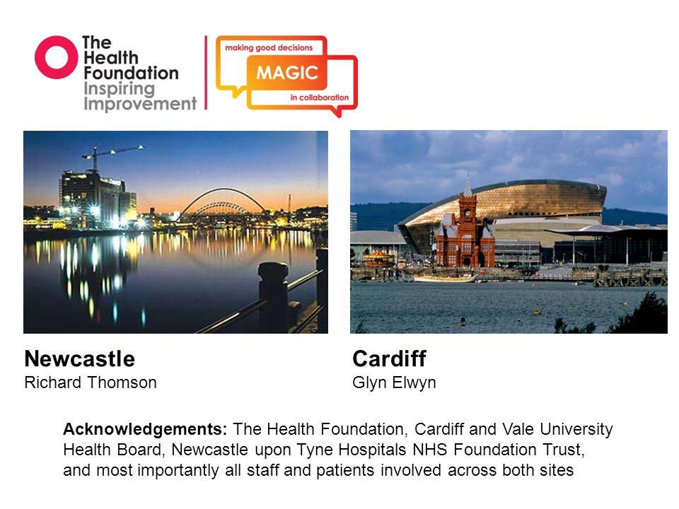 Newcastle Richard Thomson Cardiff Glyn Elwyn