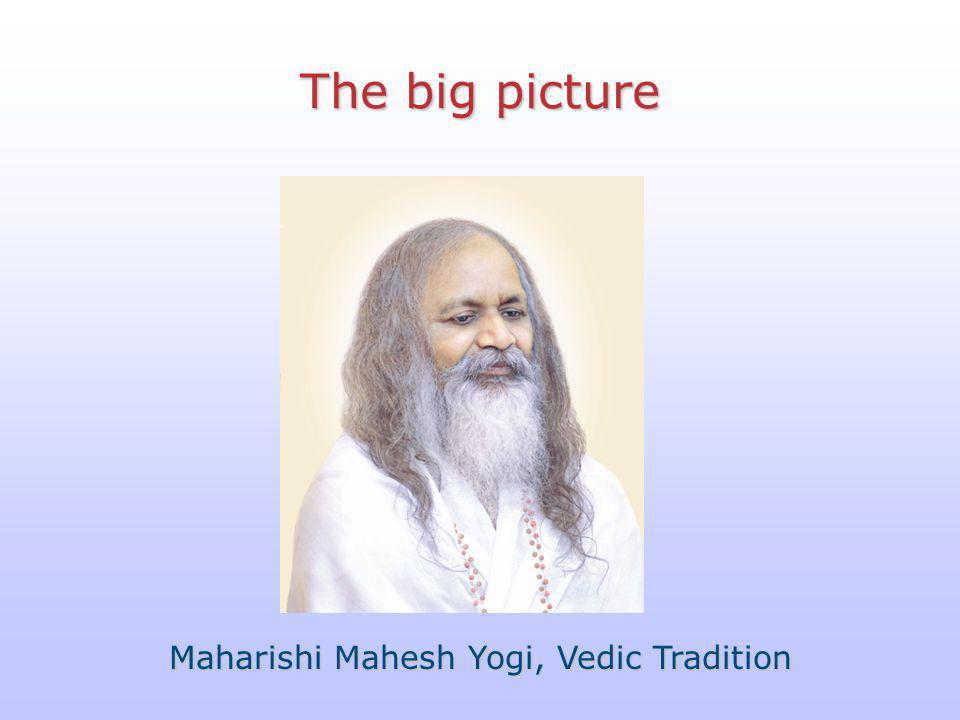 Maharishi Mahesh Yogi, Vedic Tradition