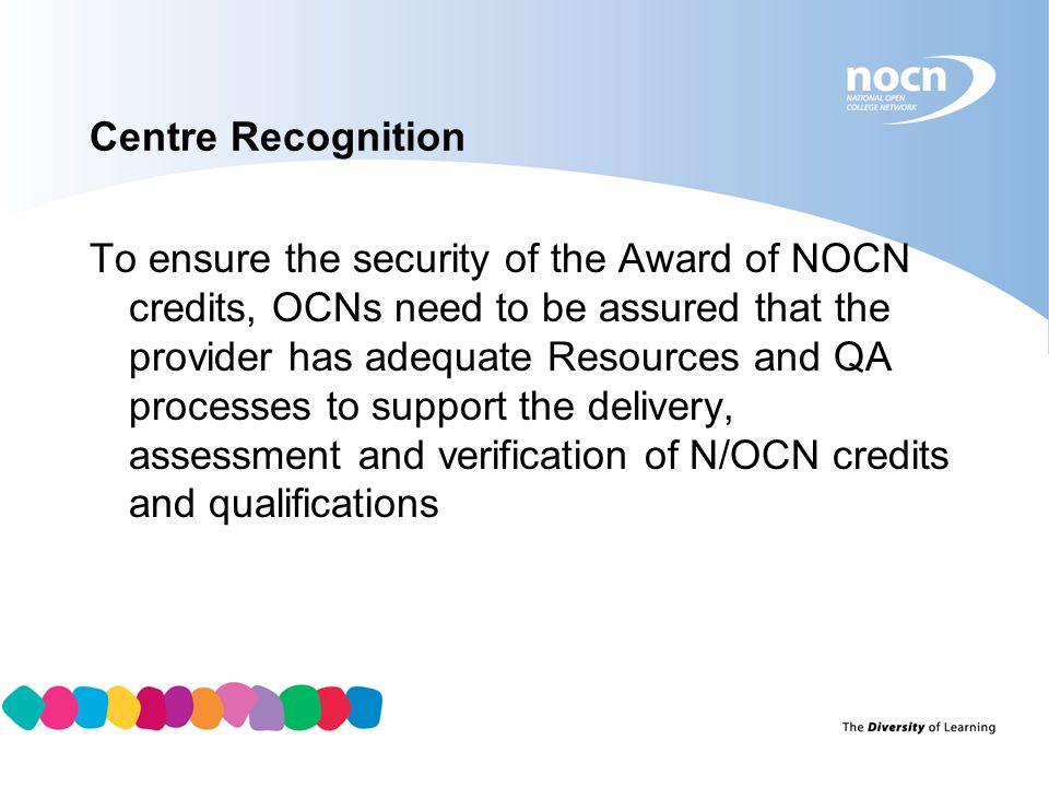 Centre Recognition
