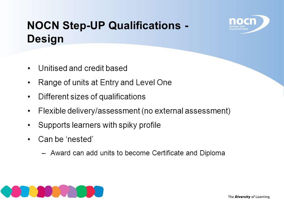 NOCN Step-UP Qualifications - Design