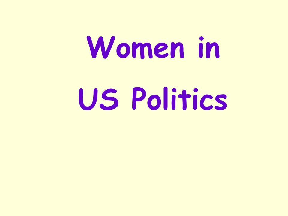 Women in US Politics Janet A. Napolitano, Kathleen Sebelius, Sally Jewell