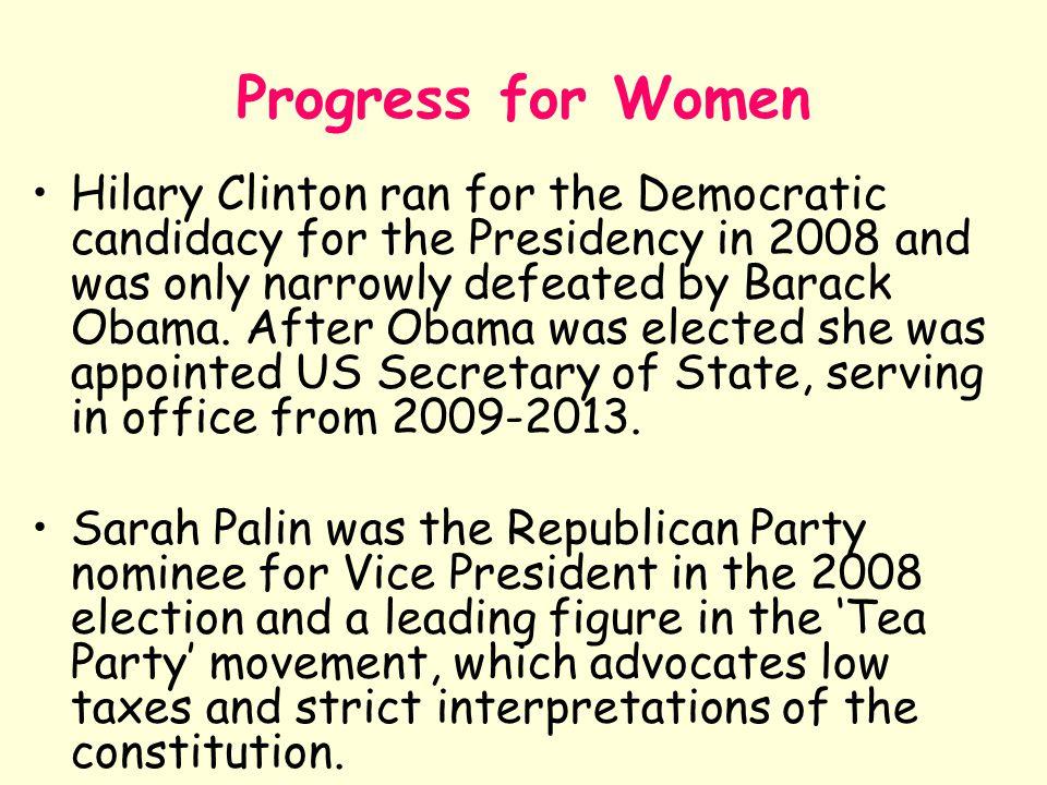 Progress for Women
