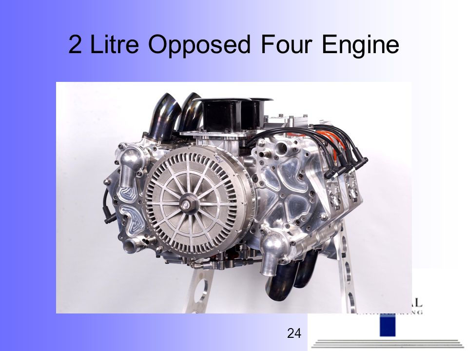 2 Litre Opposed Four Engine