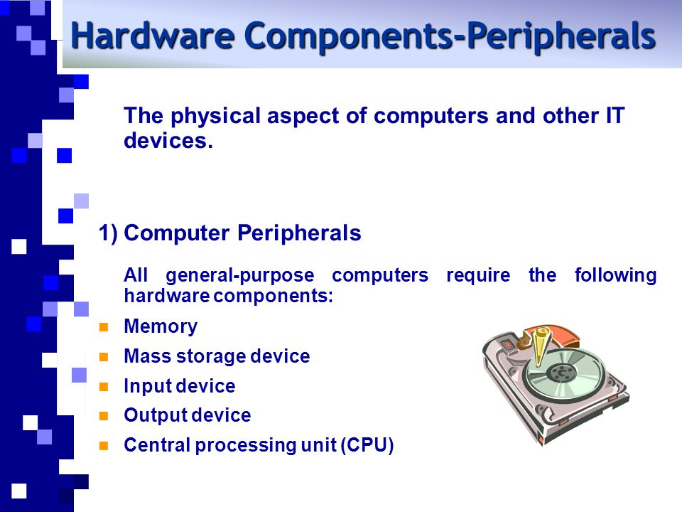 Hardware Components-Peripherals