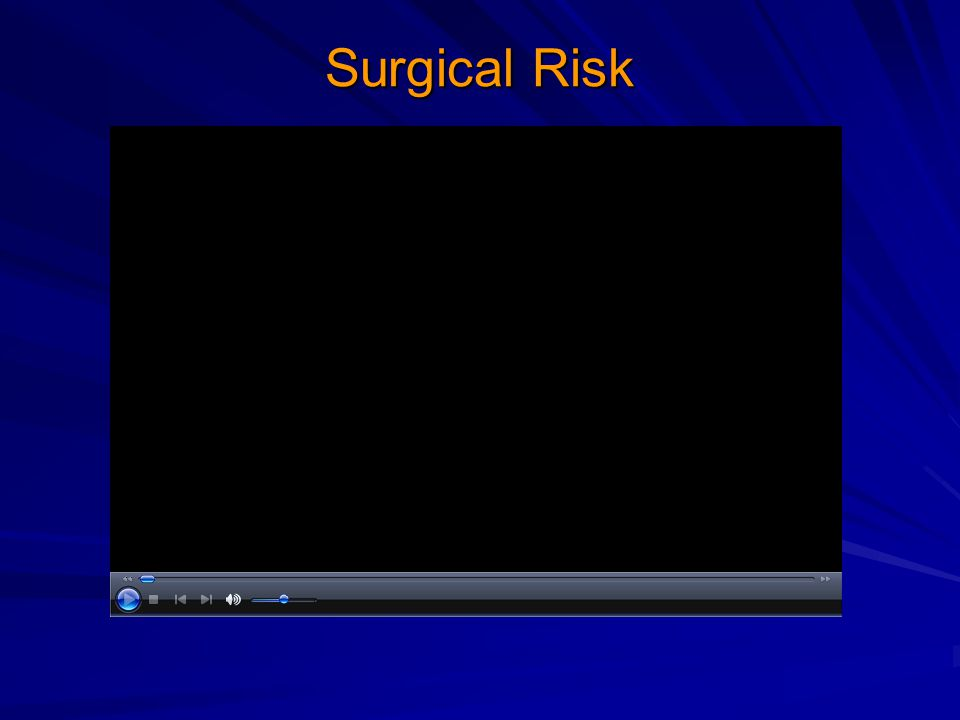 Surgical Risk