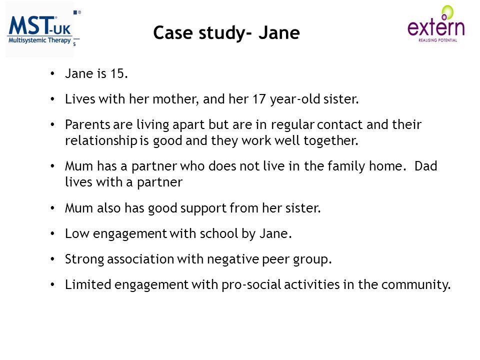 Case study- Jane Jane is 15.