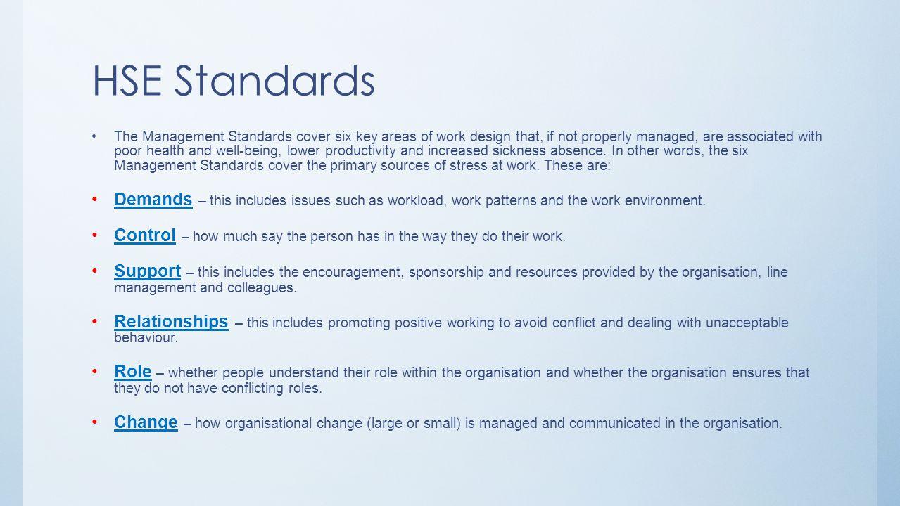 HSE Standards
