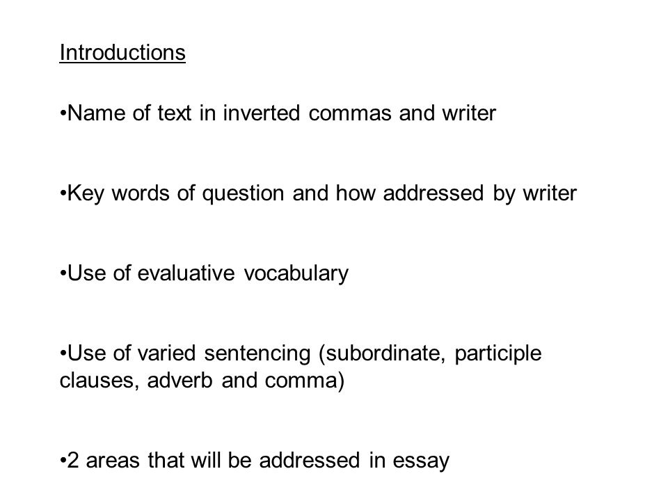 higher critical essays advice ppt 5 introductions