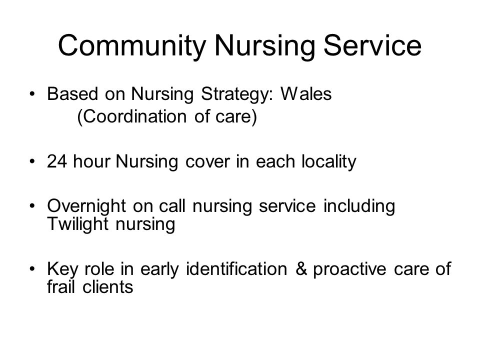Community Nursing Service