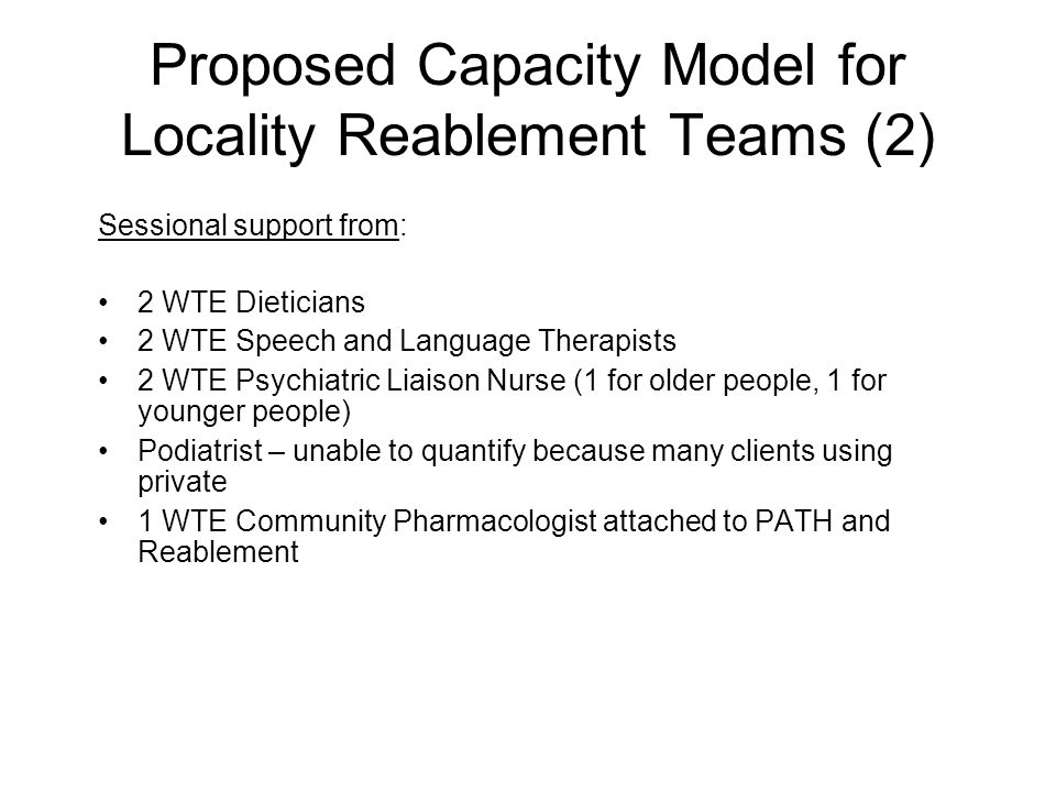 Proposed Capacity Model for Locality Reablement Teams (2)
