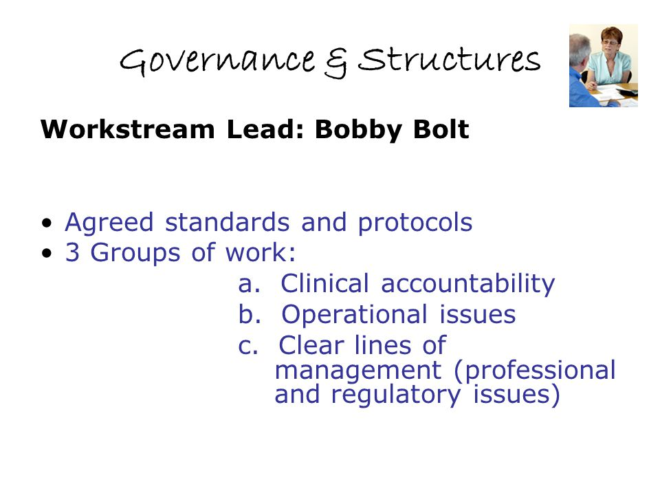 Governance & Structures