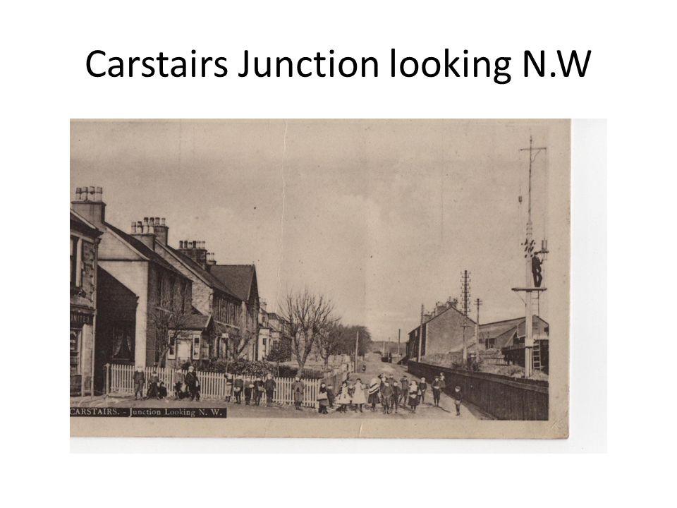 Carstairs Junction looking N.W