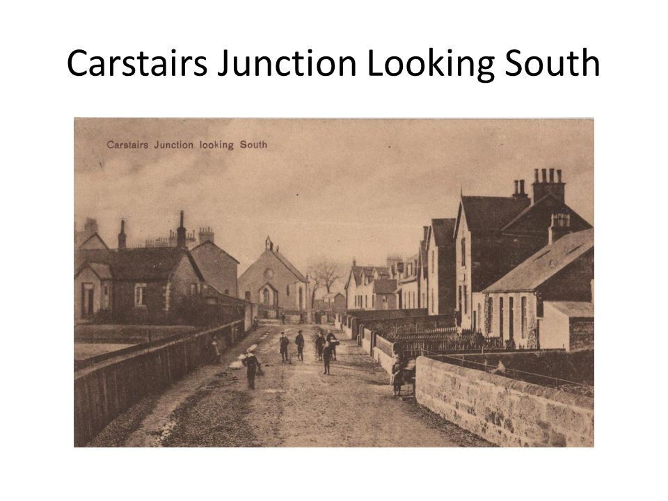 Carstairs Junction Looking South