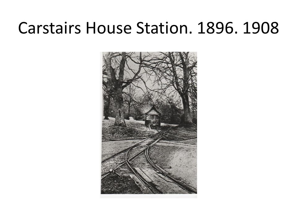 Carstairs House Station. 1896. 1908