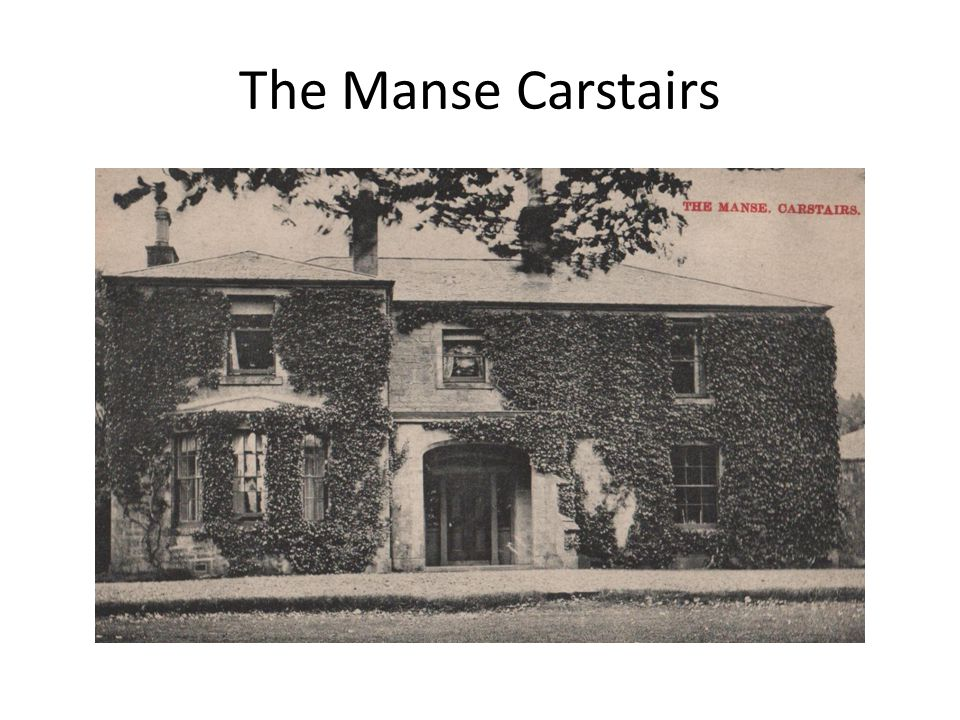 The Manse Carstairs