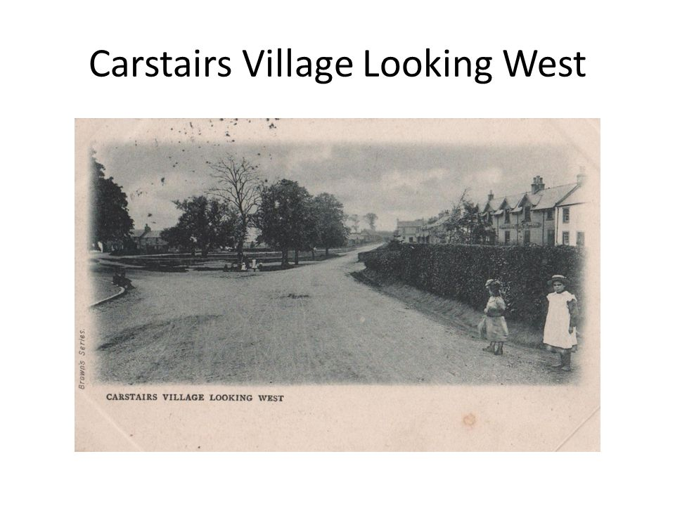 Carstairs Village Looking West