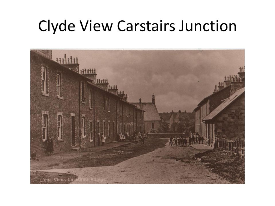 Clyde View Carstairs Junction