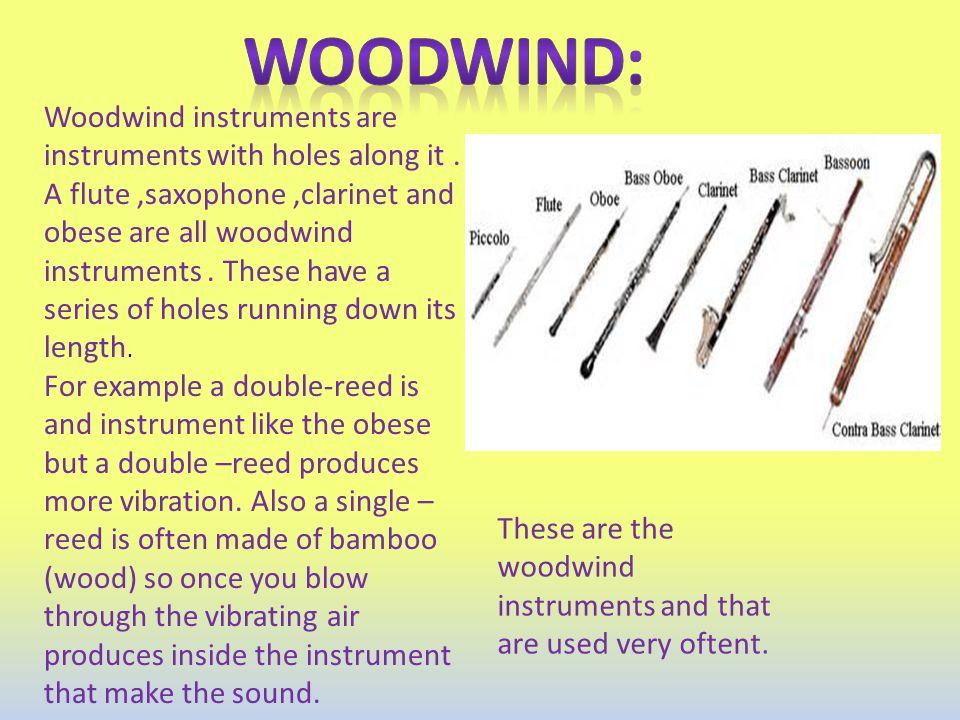 Woodwind: