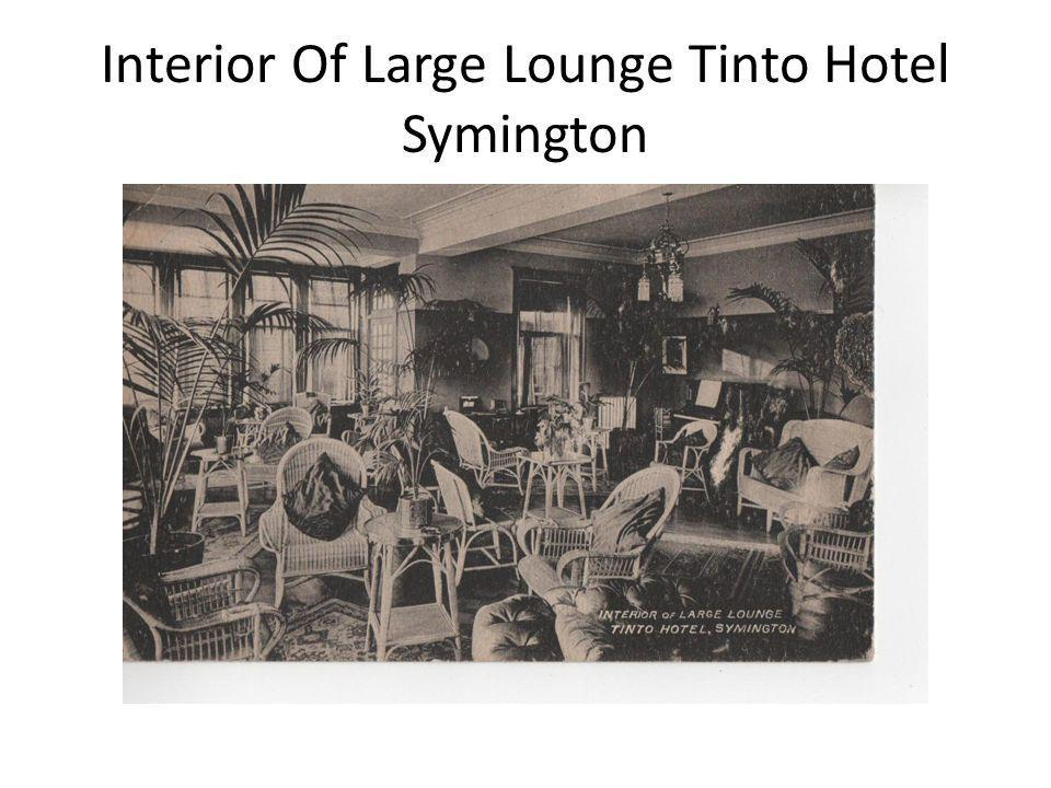 Interior Of Large Lounge Tinto Hotel Symington