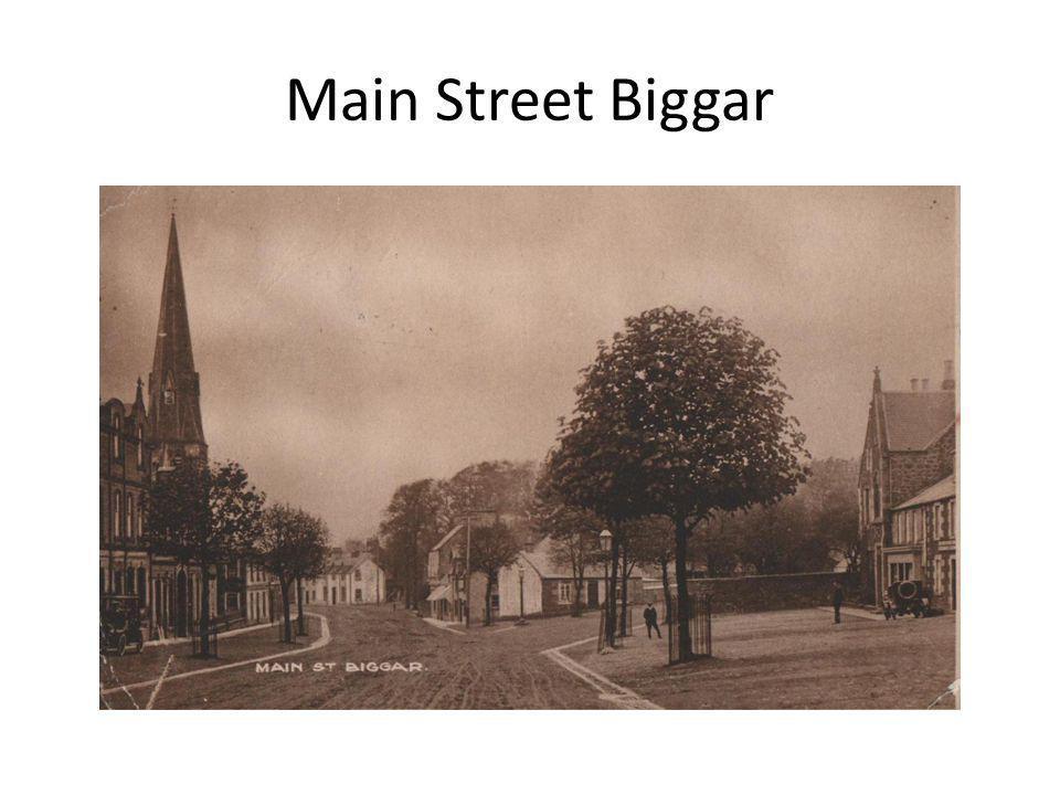 Main Street Biggar