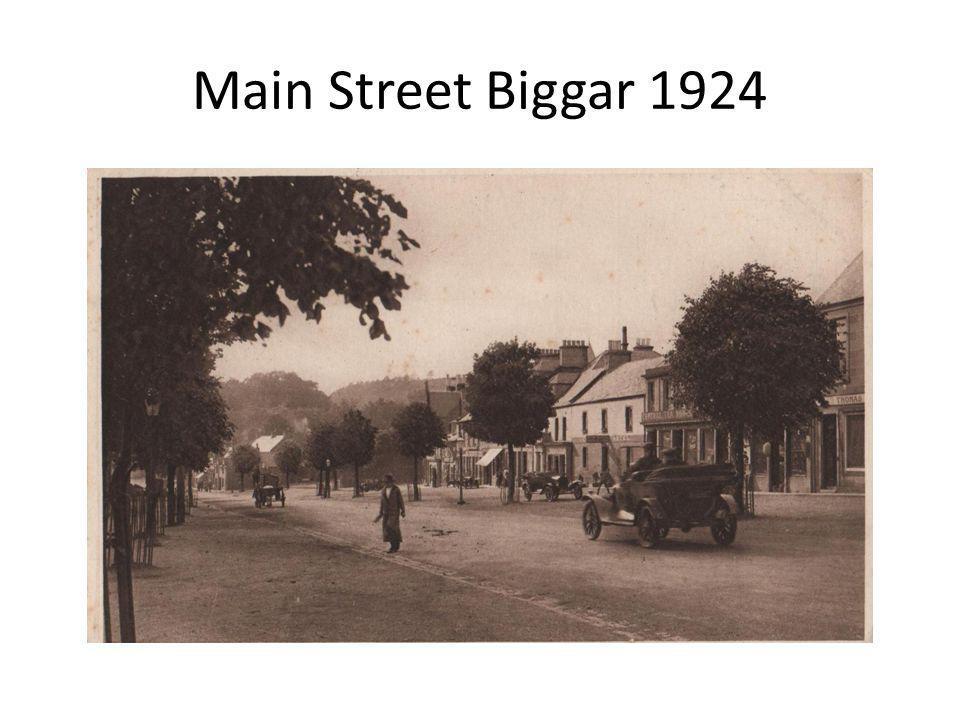 Main Street Biggar 1924