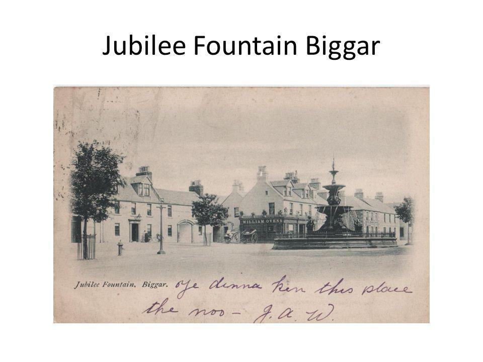 Jubilee Fountain Biggar