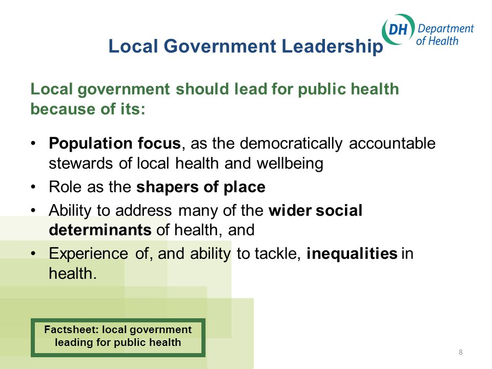 Local Government Leadership