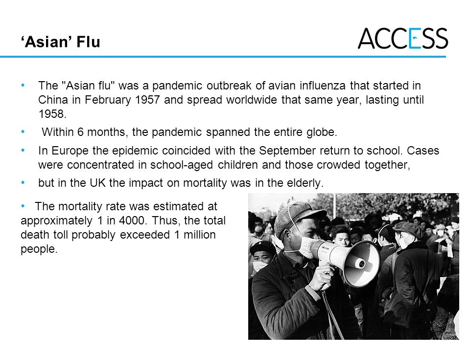 'Asian' Flu