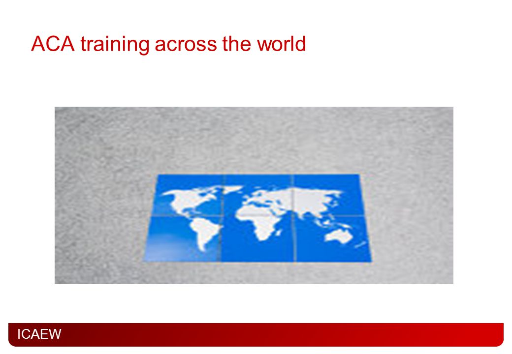 ACA training across the world