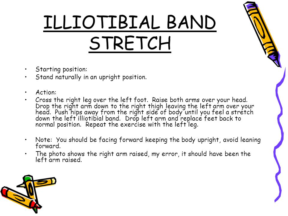 ILLIOTIBIAL BAND STRETCH