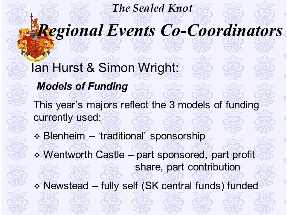 Regional Events Co-Coordinators