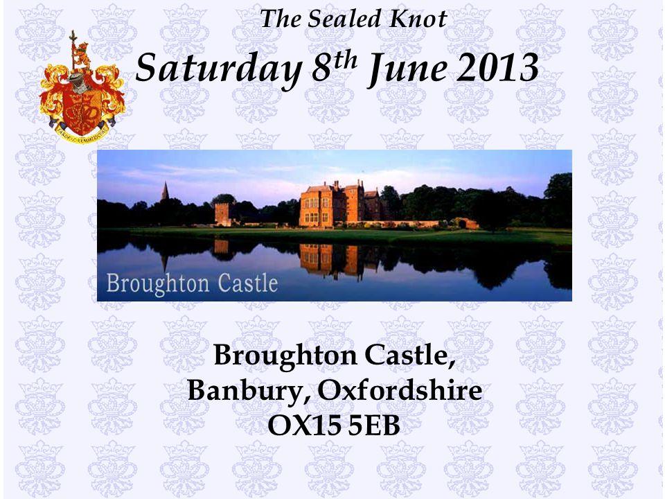 Broughton Castle, Banbury, Oxfordshire OX15 5EB